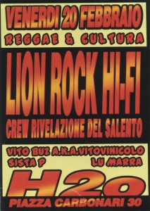 Lion Rock Sound feat Lu Marra - Milano