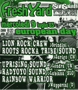 Lion Rock Hi-Fi al Rototom Sunplash nel 2003 - Fresh Yard