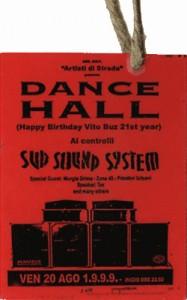 Vito Vinicolo Birth con Sud Sound System - 1999